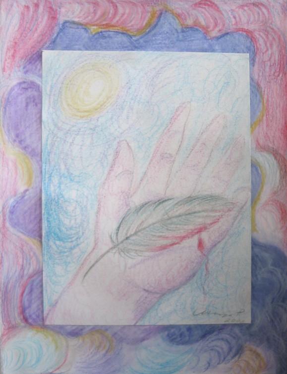 Käsi ja höyhen