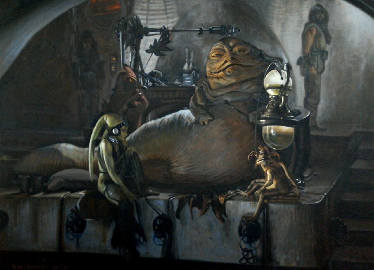 Jabba's throne room