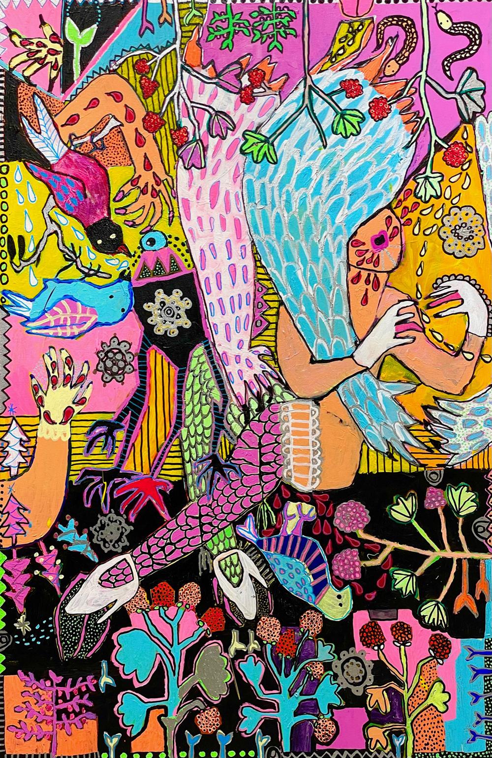 Lokakuun kuukauden taiteilija: Noora Ylipieti
